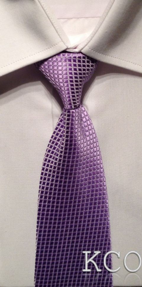 Elasticated Tie~ Style 102E Lilac
